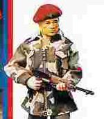 Action Man in UK style equipment