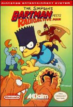 Bartman in the video game Bartman Meets Radioactive Man