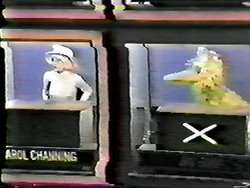 Carol Channing and Big Bird on Hollywood Squares