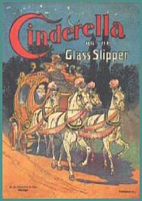 """Cinderella and the Glass Slipper"" (book cover)"
