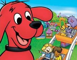 Clifford the Big Red Dog, as seen in the PBS Kids animated adaptation.