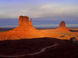 Monument Valley, Arizona, a common setting for westerns
