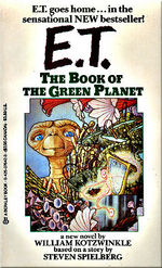 "Cover of ""E.T. - The Book of the Green Planet""."