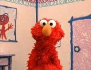 Elmo in Elmo's World.