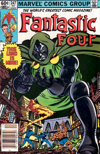 FF #247 (Oct. 1982): Doctor Doom, by penciler-inker Byrne.
