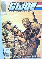 GI Joe Image/Devils Due comic book cover from the early 21st century incarnation 'G.I. Joe: A Real American Hero'