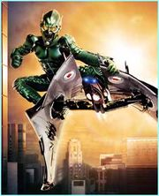 Green Goblin, from the 2002 Spider-Man film.