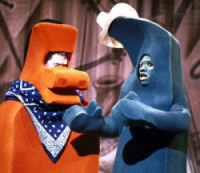 Eddie Murphy as Gumby and Joe Piscopo as Pokey