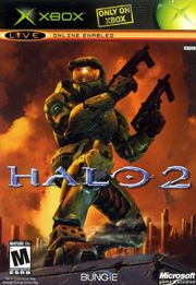 The box art for Halo 2.
