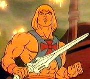 He-Man as he first appeared in the 1983 series