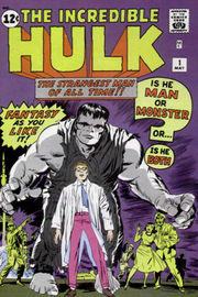 Cover to The Incredible Hulk #1. Art by Jack Kirby.