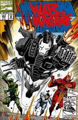 "Iron Man Vol. 1, #283 (August 1992). ""War Machine"". Art by Kevin Hopgood."