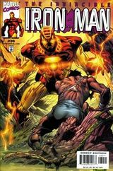 Iron Man Vol. 3 #30 (July 2000). The Sentient Armor. Art by Joe Quesada.