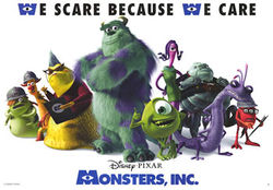 Monsters Inc. promo poster