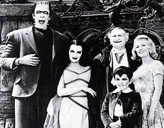 The Munsters - Herman, Lily, Grandpa, Marilyn and Eddie
