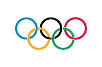 The five Olympic rings were designed in 1913, adopted in 1914 and debuted at the Games at Antwerp, 1920.
