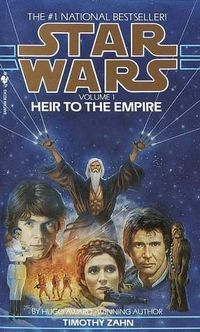 Timothy Zahn's Heir to the Empire, the first volume in the Thrawn Trilogy.