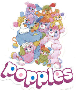 The Popples and the show's logo