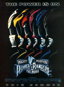Teaser poster for Mighty Morphin Power Rangers: The Movie