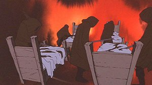 The Nazgûl, as portrayed in the 1978 animated film version.