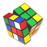 Rubik's Cube being solved