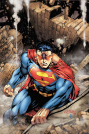 Superman illustrated by Ed Benes.