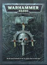 Cover of the Warhammer 40,000 4th edition rulebook