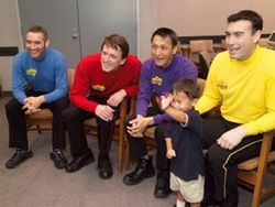 The Wiggles have become Australia's top earner in the entertainment field in 2005 - rated by Business Review Weekly.