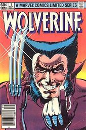 Premiere of the first Wolverine limited series (Sept.-Dec. 1982). Art by Frank Miller and Joe Rubinstein.