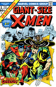 Giant-Size X-Men #1, 1975. Art by Gil Kane & Dave Cockrum.