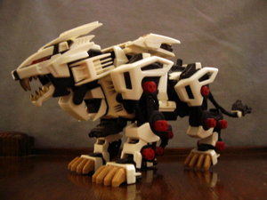 """Liger Zero"", one of the most recognisable Zoids in the Western fandom"